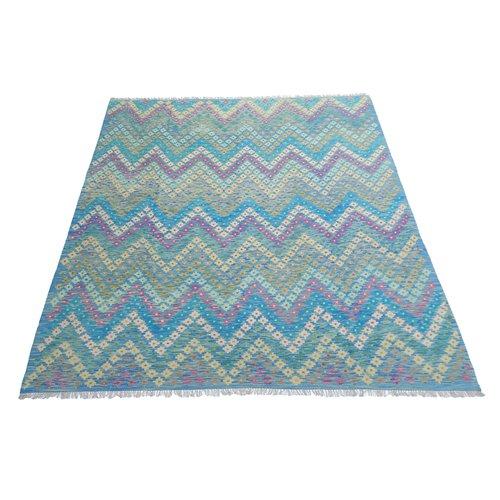 exclusive Kelim Teppich 296x251 cm Multicolor afghan kilim teppich