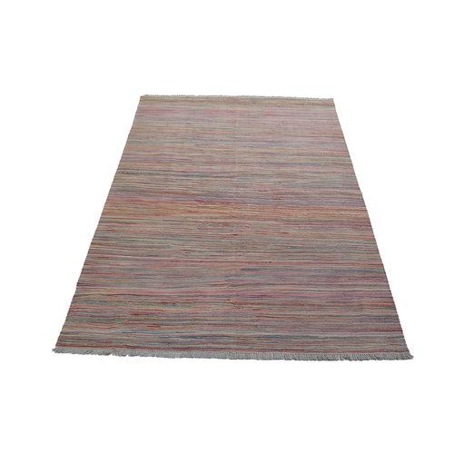 Kelim teppich 236X167cm streep Multicolor afghan