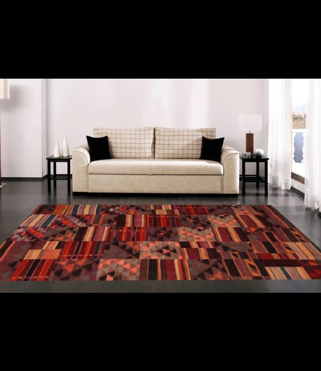 kelim patchwork tapijt 300x202 cm
