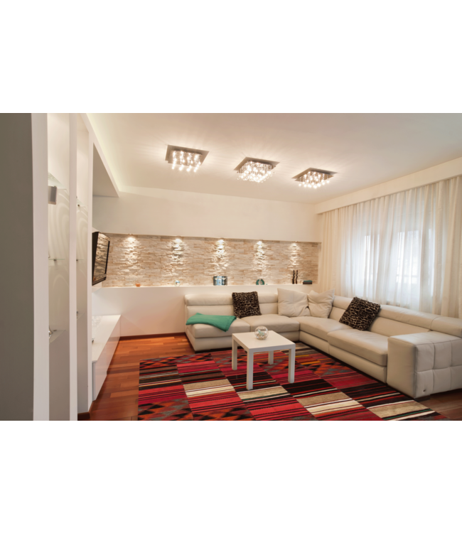 kelim patchwork tapijt 257x200 cm