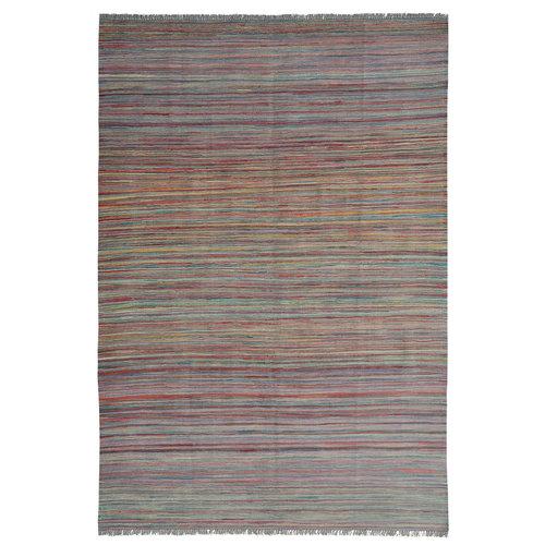 Kelim teppich 246X171 cm streep Multicolor afghan
