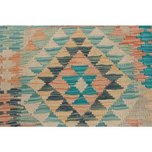 Kelim teppich 200X151 cm Multicolor afghan