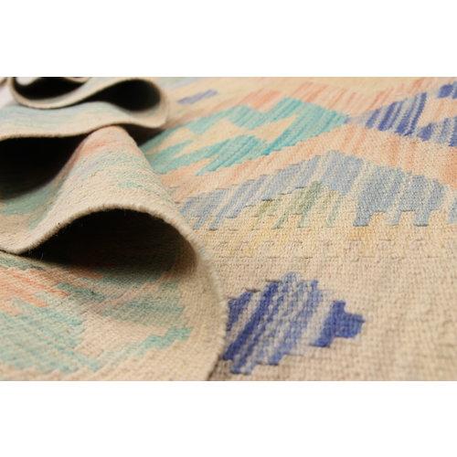 Kelim teppich 198X147 cm Multicolor afghan