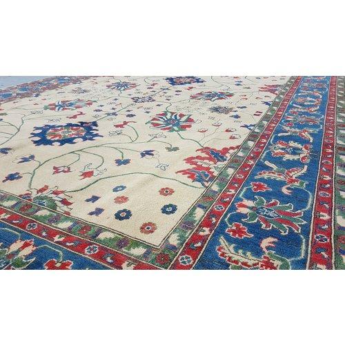 Handgeknüpft wolle kazak teppich  360x275 cm   Orientalisch teppichboden