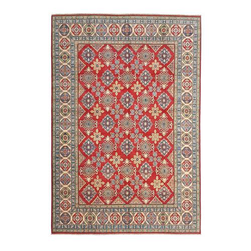 Handgeknüpft wolle kazak teppich  363x268 cm   Orientalisch teppichboden