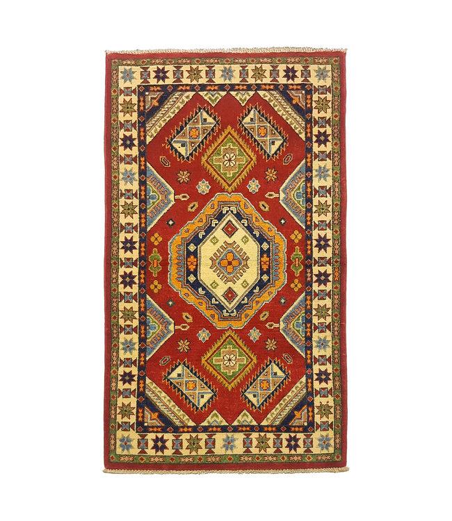 Handgeknoopt Royal kazak tapijt 155x88 cm  vloerkleed Traditional