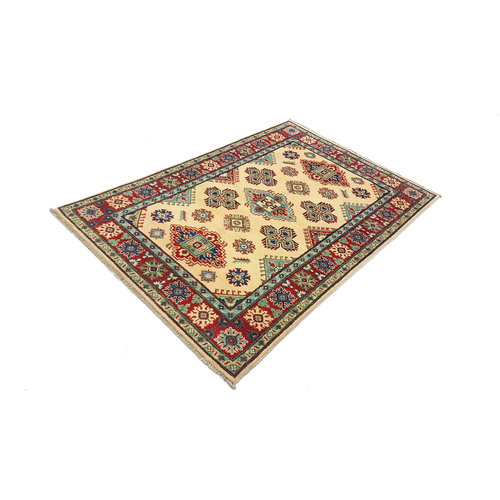 Handgeknüpft wolle kazak teppich  183x122 cm   Orientalisch teppichboden