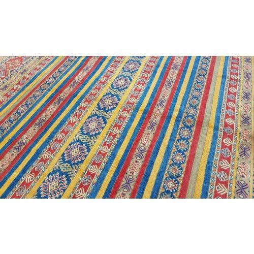 Handgeknüpft wolle kazak teppich  364x276 cm   Orientalisch teppichboden