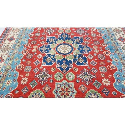 Handgeknüpft wolle kazak teppich 303x240 cm   Orientalisch teppichboden