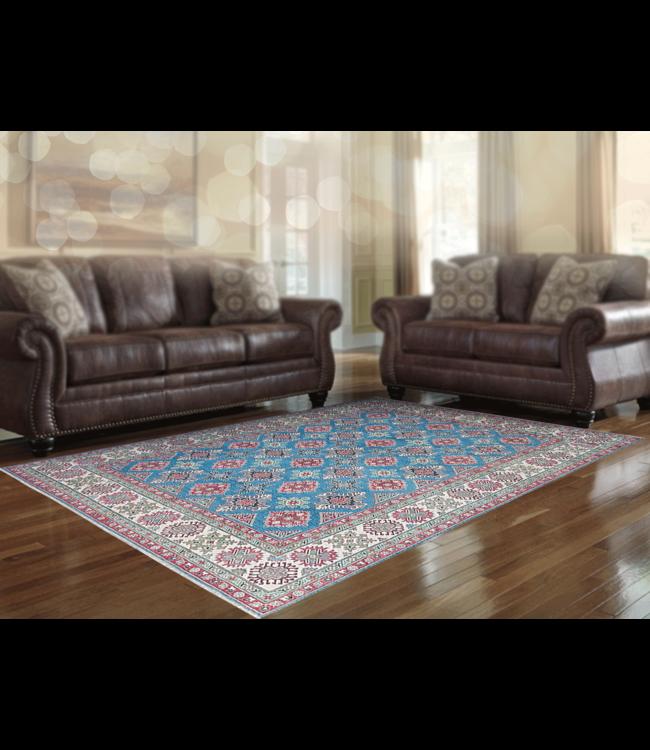 Handgeknoopt kazak tapijt 359x275 cm  oosters kleed vloerkleed