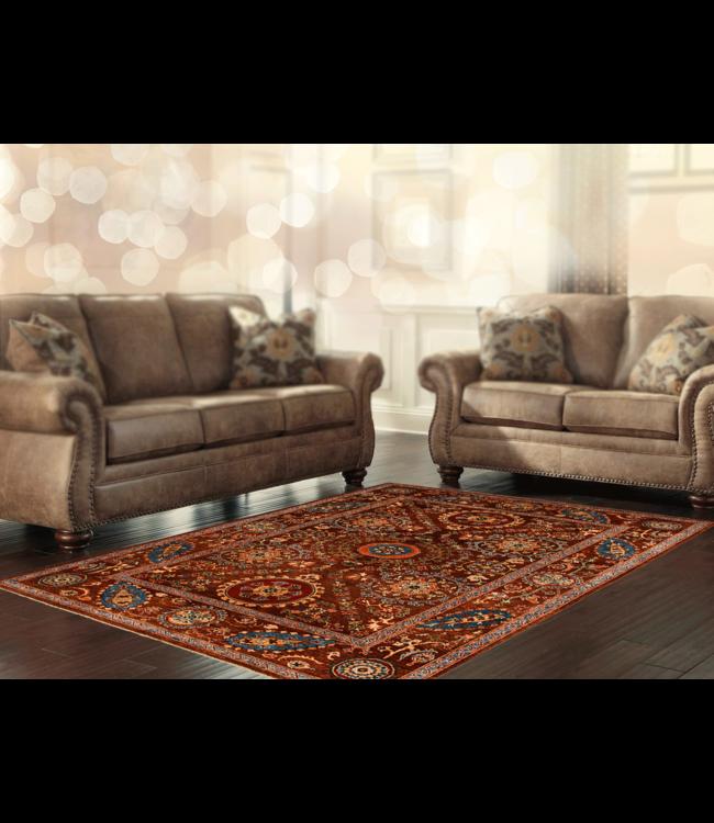 Handgeknoopt Suzani tapijt 278x203 cm  oosters kleed vloerkleed