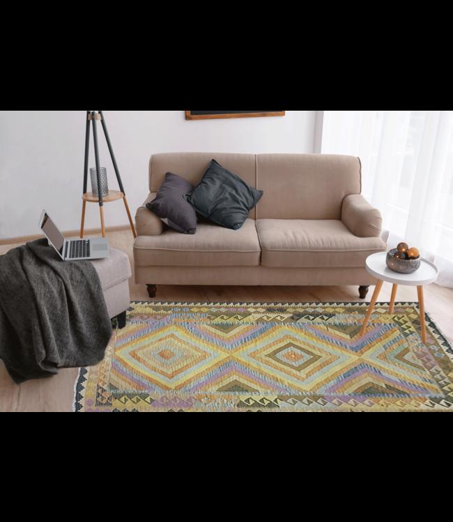 kelim 233 x 165 cm vloerkleed tapijt kelims hand geweven