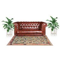 exclusive Kelim Teppich 297x198 cm Multicolor afghan kilim teppich