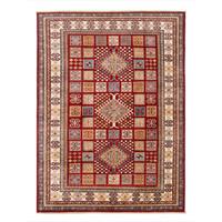 231x171cm kazak Teppich fine handgeknüpft wolle