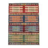 234x170cm kazak Teppich fine handgeknüpft wolle