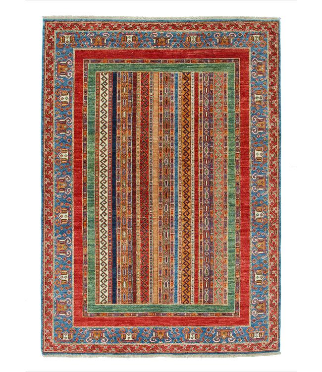 240x168 cm kazak tapijt fijn  Handgeknoopt wol