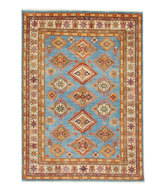 246x173 cm kazak tapijt fijn  Handgeknoopt wol