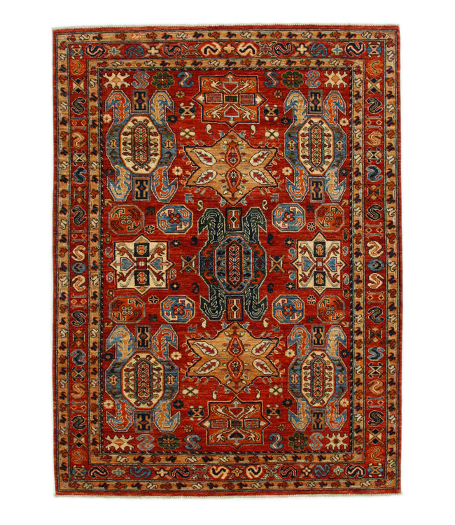 238x174 cm kazak tapijt fijn  Handgeknoopt wol