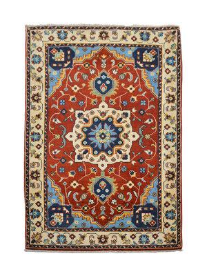Handgeknüpft wolle kazak Rod teppich 151x104 cm   Orientalisch  teppich