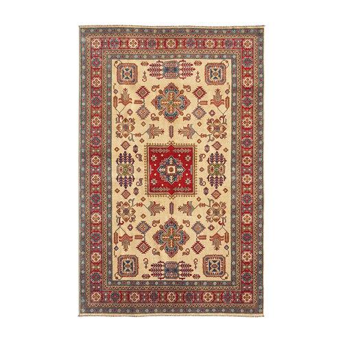 Handgeknüpft wolle kazak teppich  300x200  cm   Orientalisch teppichboden
