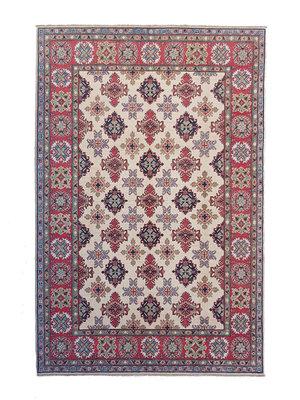 Handgeknüpft wolle kazak teppich  294x202  cm   Orientalisch teppichboden