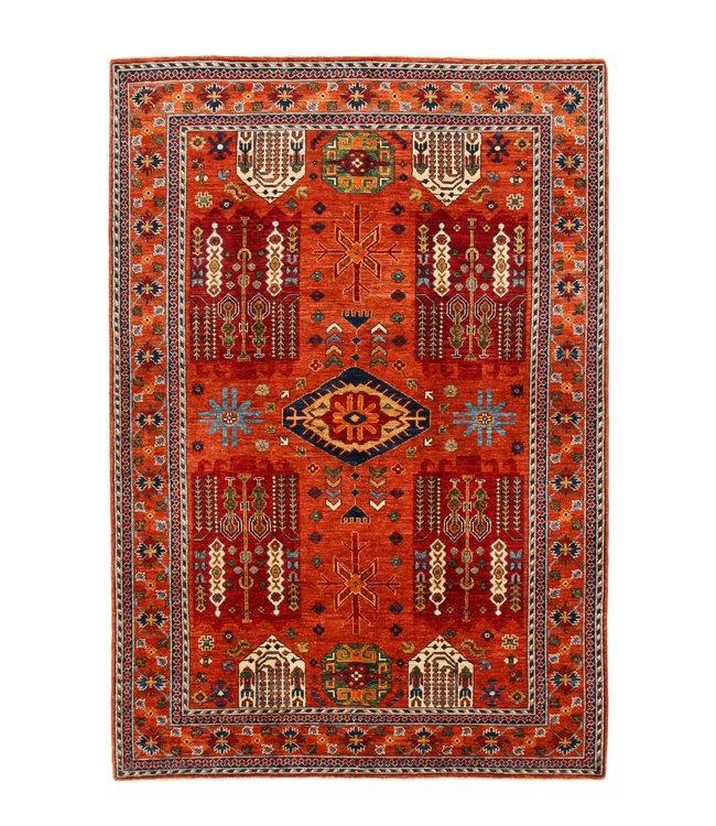 243x167 cm kazak tapijt fijn  Handgeknoopt wol