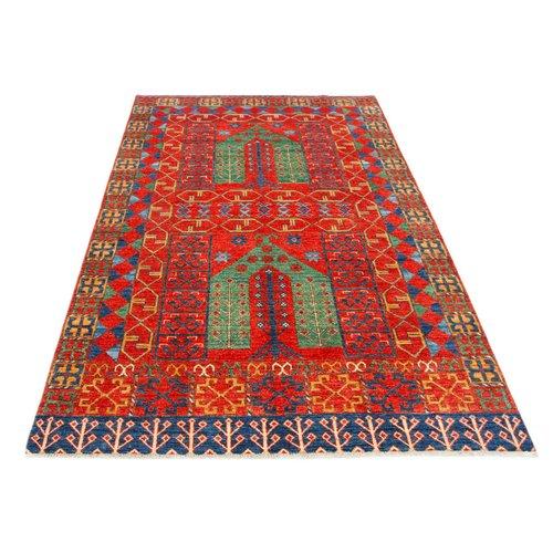 243x154 cm kazak Teppich fine handgeknüpft wolle