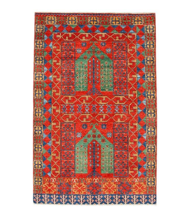 243x154 cm kazak tapijt fijn  Handgeknoopt wol