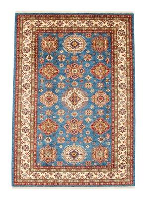 252x176 cm Kazak Rug Fine Hand knotted  Wool Oriental Carpet