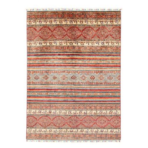 245x174 cm Kazak Rug Fine Hand knotted  Wool Oriental Carpet