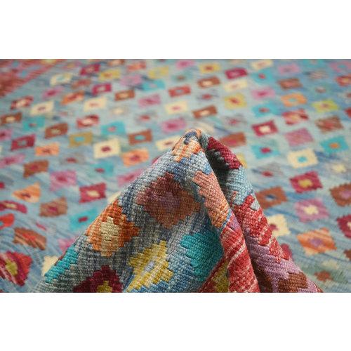 Kelim Teppich 193X153 cm afghan kelim teppich