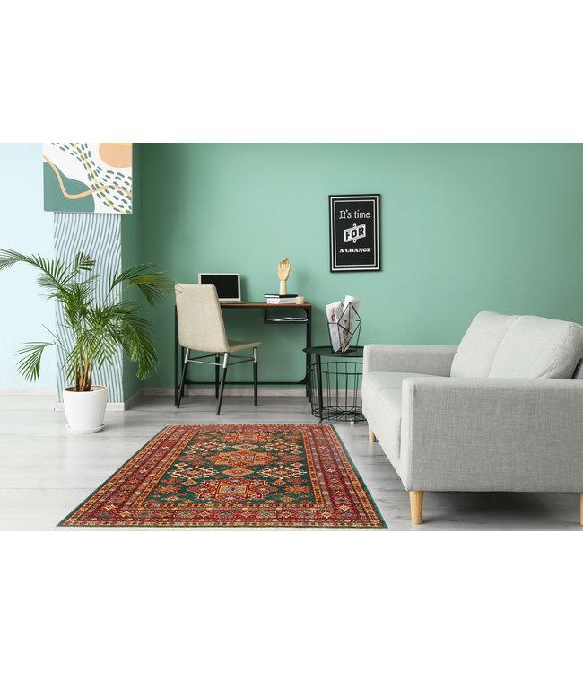 237x167 cm kazak tapijt fijn  Handgeknoopt wol