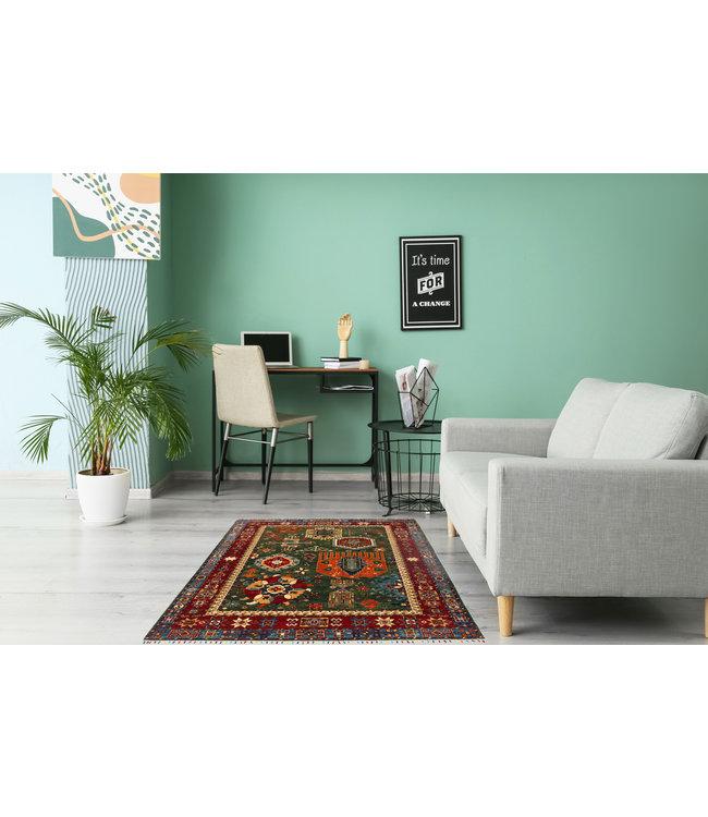 239x172 cm kazak tapijt fijn  Handgeknoopt wol
