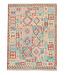 197x147 cm Afghan Kelim Kleed Vloerkleed Tapijt Kelim Hand Geweven