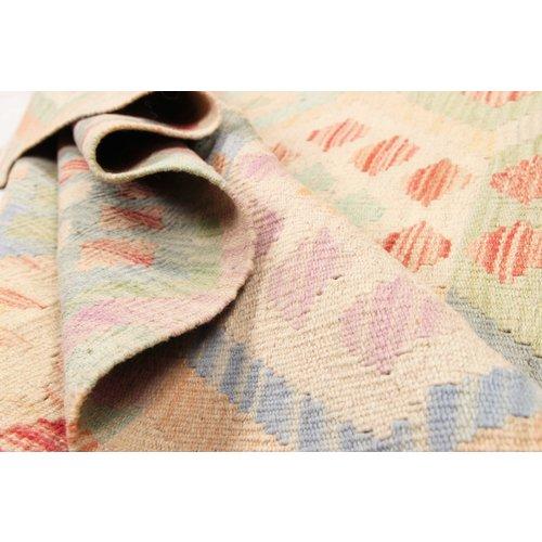194x152 cm Kelim Teppich afghan kelim teppich