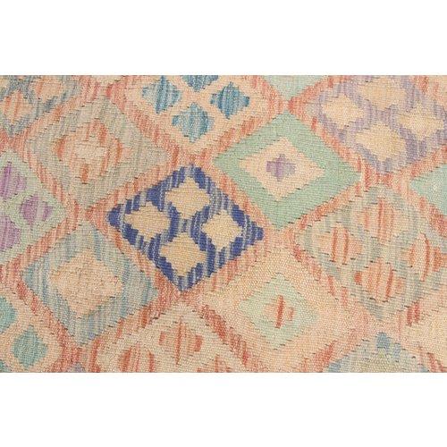 197x152 cm Kelim Teppich afghan kelim teppich