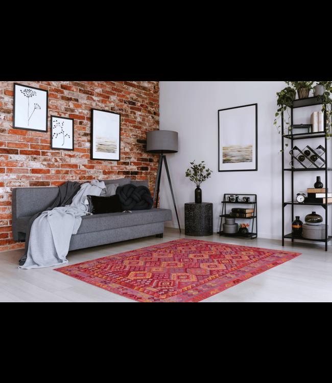 kelim kleed 286x208 cm vloerkleed tapijt kelims hand geweven
