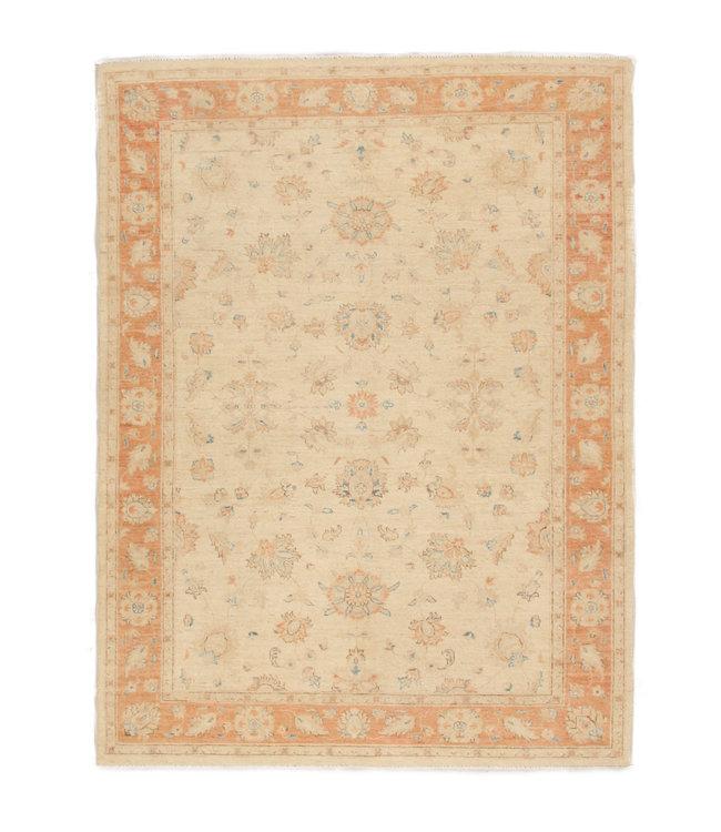 228x164 cm Handgeknoopt traditioneel Ziegler wollen tapijt