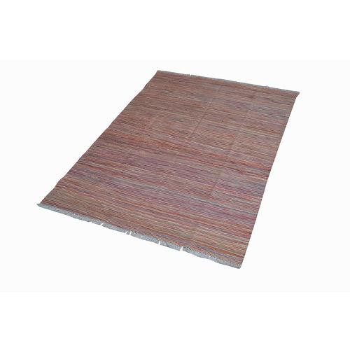 206x149 cm Handgemacht Wolle Kelim Teppich Orientteppich