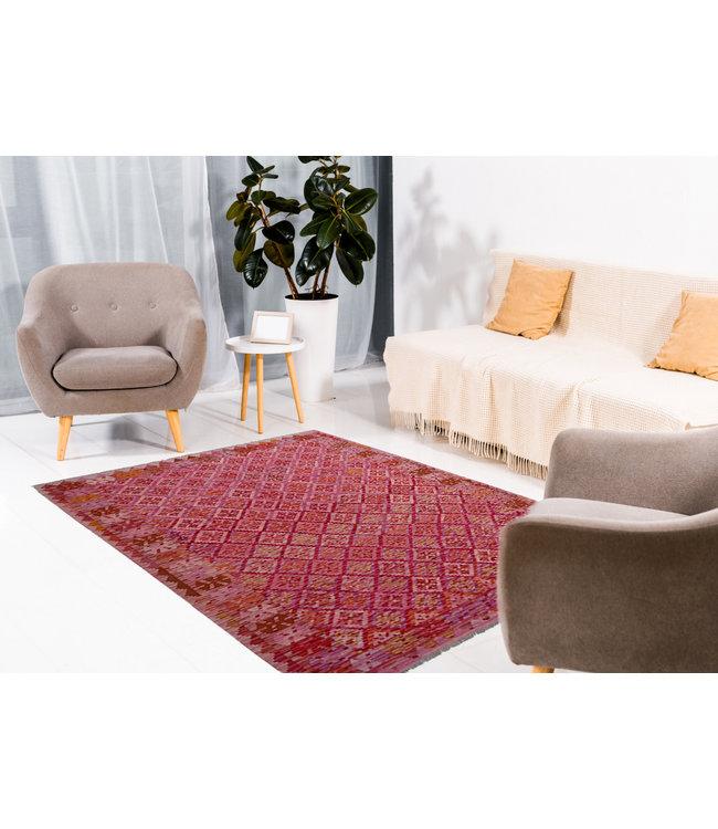 kelim kleed  252x190 cm  vloerkleed tapijt kelims hand geweven