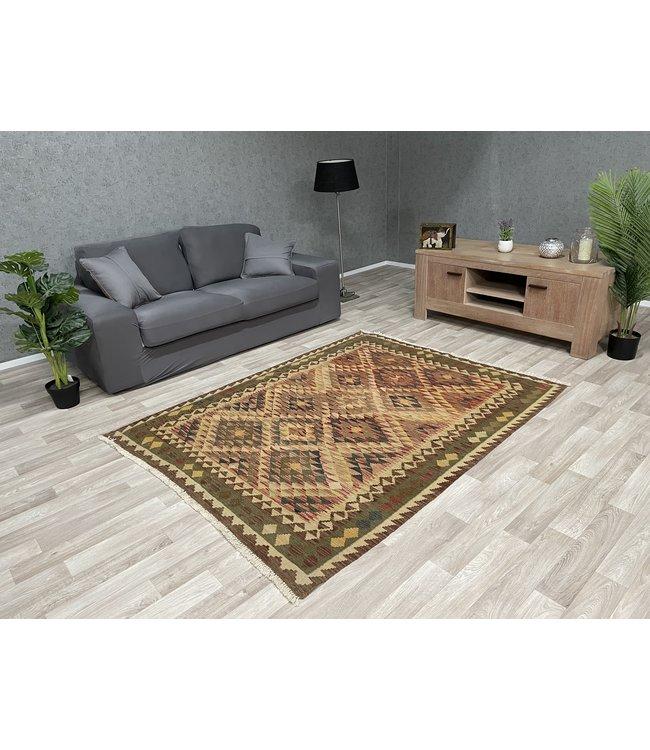 kelim tapijt 195x151 cm