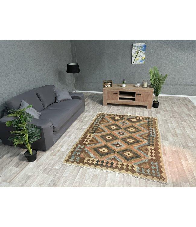 kelim tapijt 195x144 cm