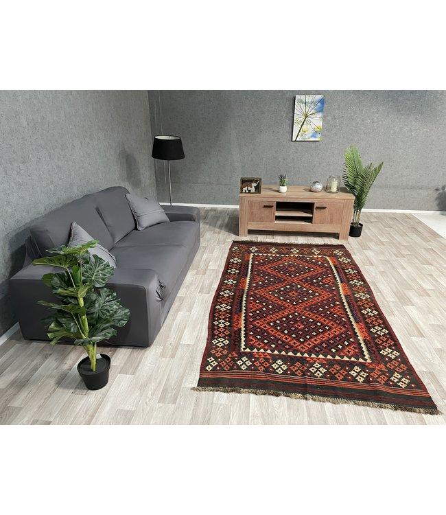 kelim 239 x 116 cm vloerkleed tapijt kelims hand geweven