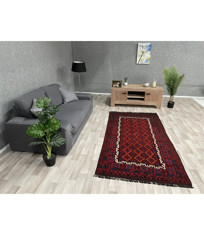 kelim 225 x 114 cm vloerkleed tapijt kelims hand geweven