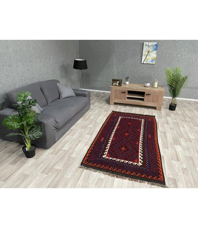 kelim 203 x 104 cm  vloerkleed tapijt kelims hand geweven