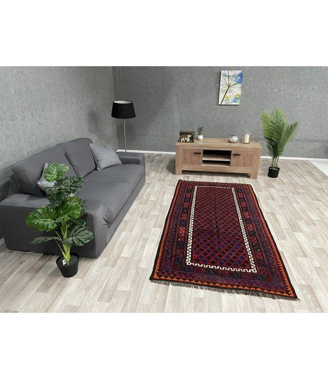 kelim 219 x 111 cm vloerkleed tapijt kelims hand geweven