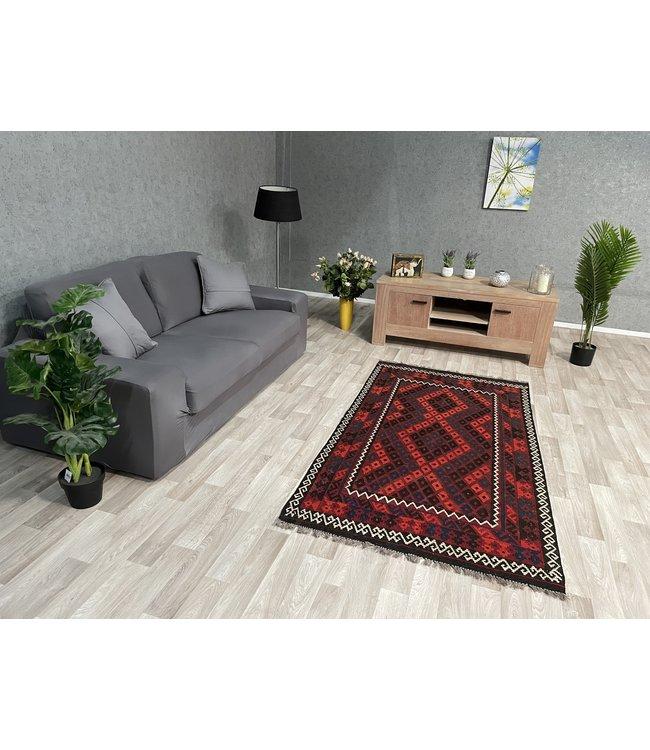 kelim 195 x 106 cm vloerkleed tapijt kelims hand geweven