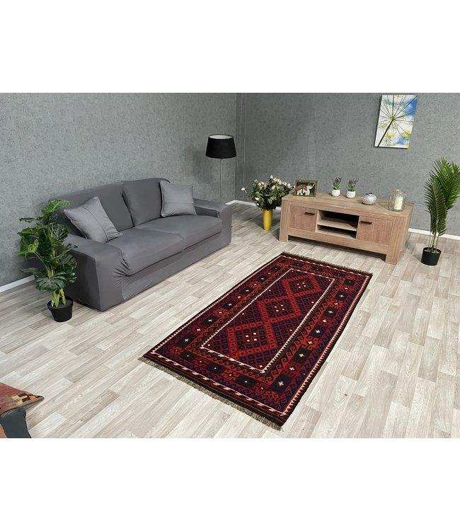 kelim 217 x 104 cmvloerkleed tapijt kelims hand geweven