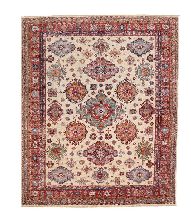 306x247 cm kazak tapijt fijn  Handgeknoopt wol