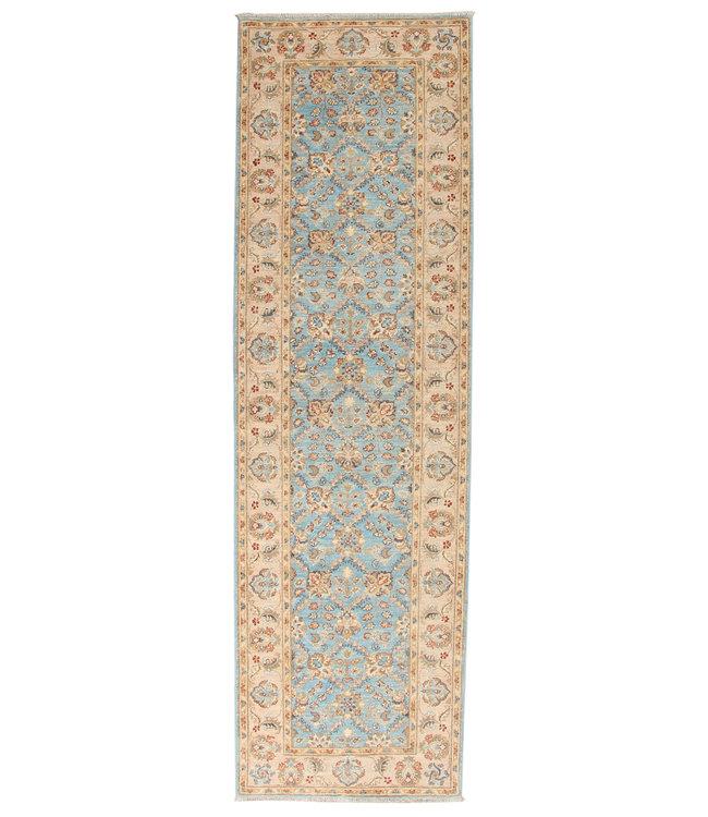 286x86 cm Handgeknoopt Ziegler Vloerkleed Wollen Loper Tapijt